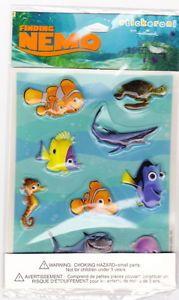 Finding Nemo Disney Pixar BRAND NEW sticker sheet Hallmark