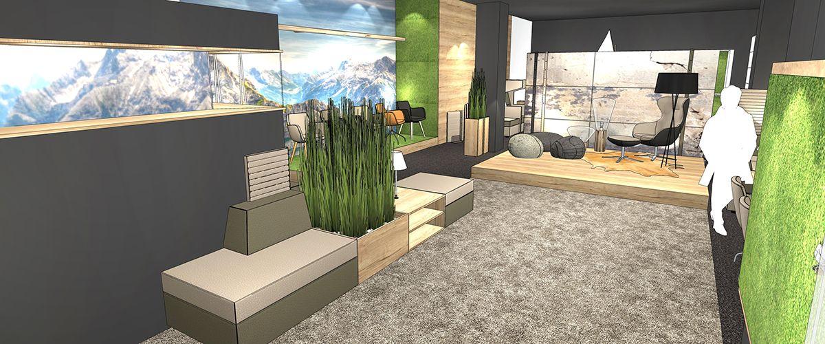 Individuelle Planung Von Büromöbeln Und Büroräumen Büro