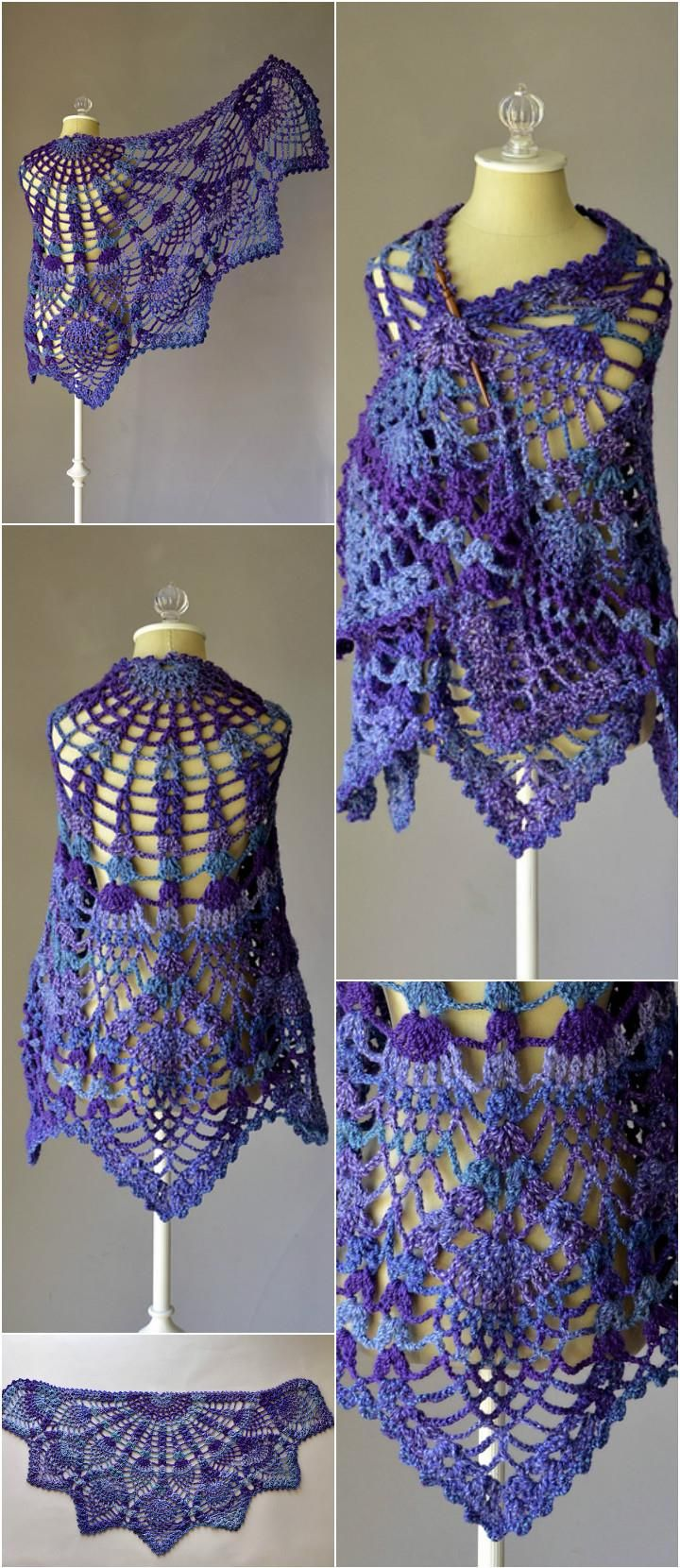 10 free crochet shawl patterns for womens free crochet shawl 10 free crochet shawl patterns for womens bankloansurffo Images