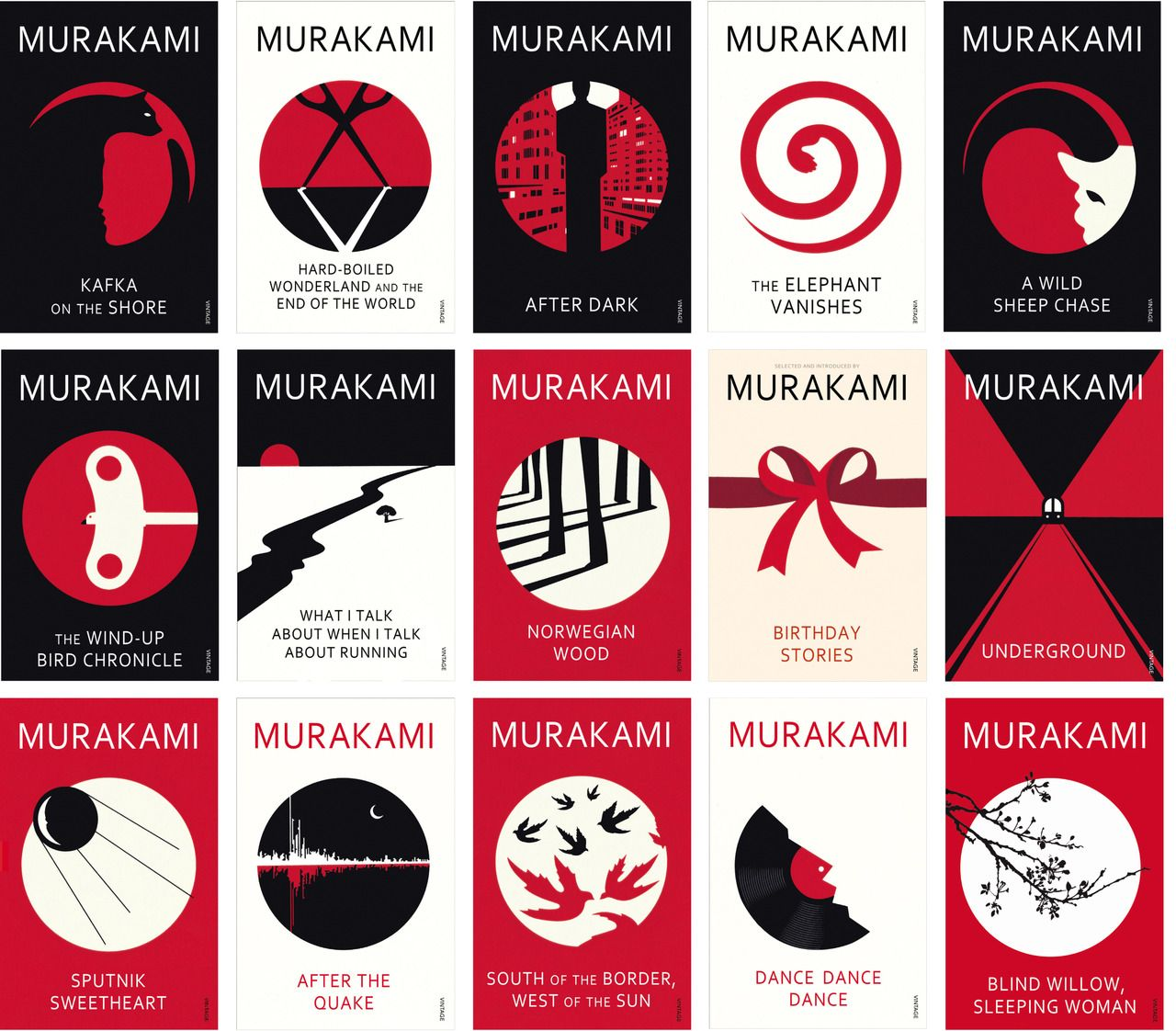 Haruki Murakami's Books Get A New Simplistic Look