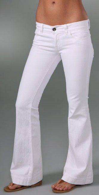 J Brand Lovestory Low Rise Bell Bottom Jean | SHOPBOP | Fashion ...