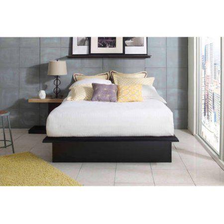 Premier Austin Metal Platform Bed Frame Cal King with complete Bonus ...