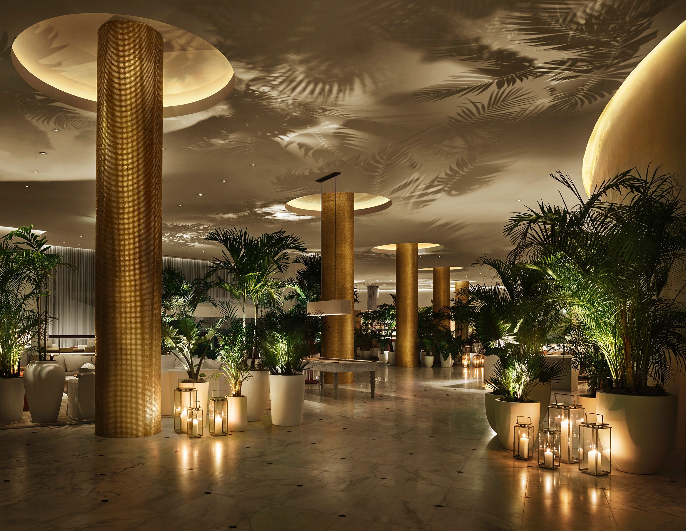 Yabu Pushelberg, The Miami Beach Edition, Lobby | Luxury Boutique Hotel