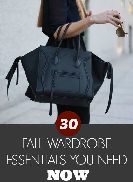 0d5257ef8915 30 Fall Wardrobe Essentials You Need Now