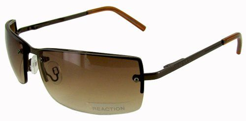 9ab32f69b05 Kenneth Cole Reaction KC1038 Brown Rimless Sunglasses     See this great  product.Note It is affiliate link to Amazon.