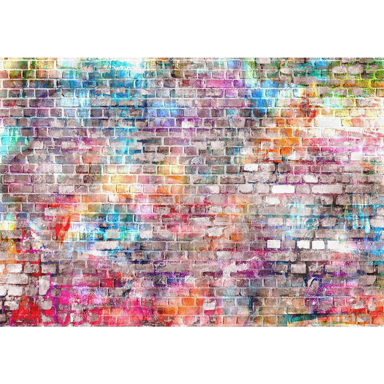 vlies fototapete 'steinwand' 352x250 cm - 9020011b runa tapete