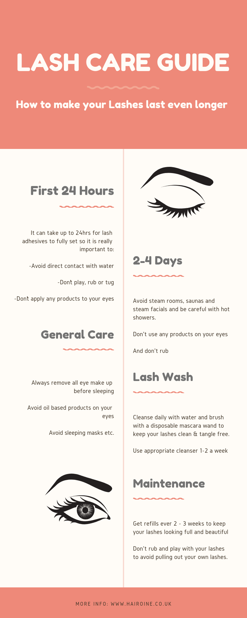 Eyelash Extension Care Guide How To Care For Individual Eyelash Extensions Tips Tr Eyelash Extensions Care Individual Eyelash Extensions Eyelash Extensions