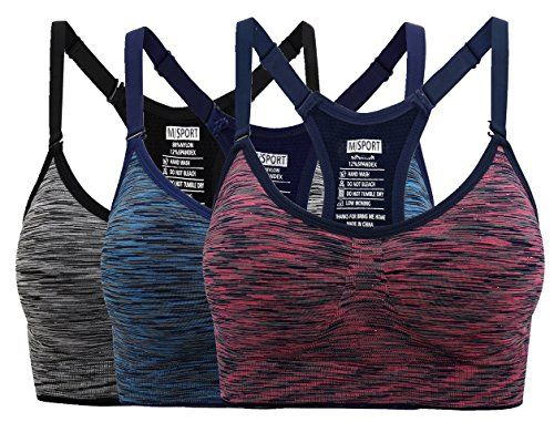 2087c7891 Nonwe Women s Seamless Comfort Sports Bra Low Impact Yoga Bras