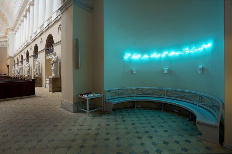 """""""I Felt You And I Know You Loved Me"""" - Tracey Emin in Vor Frue Kirke, Copenhagen"""