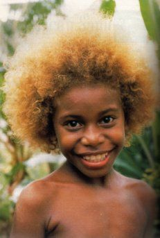 Solomon Islands Black To Blonde Hair African Hairstyles Natural Blondes