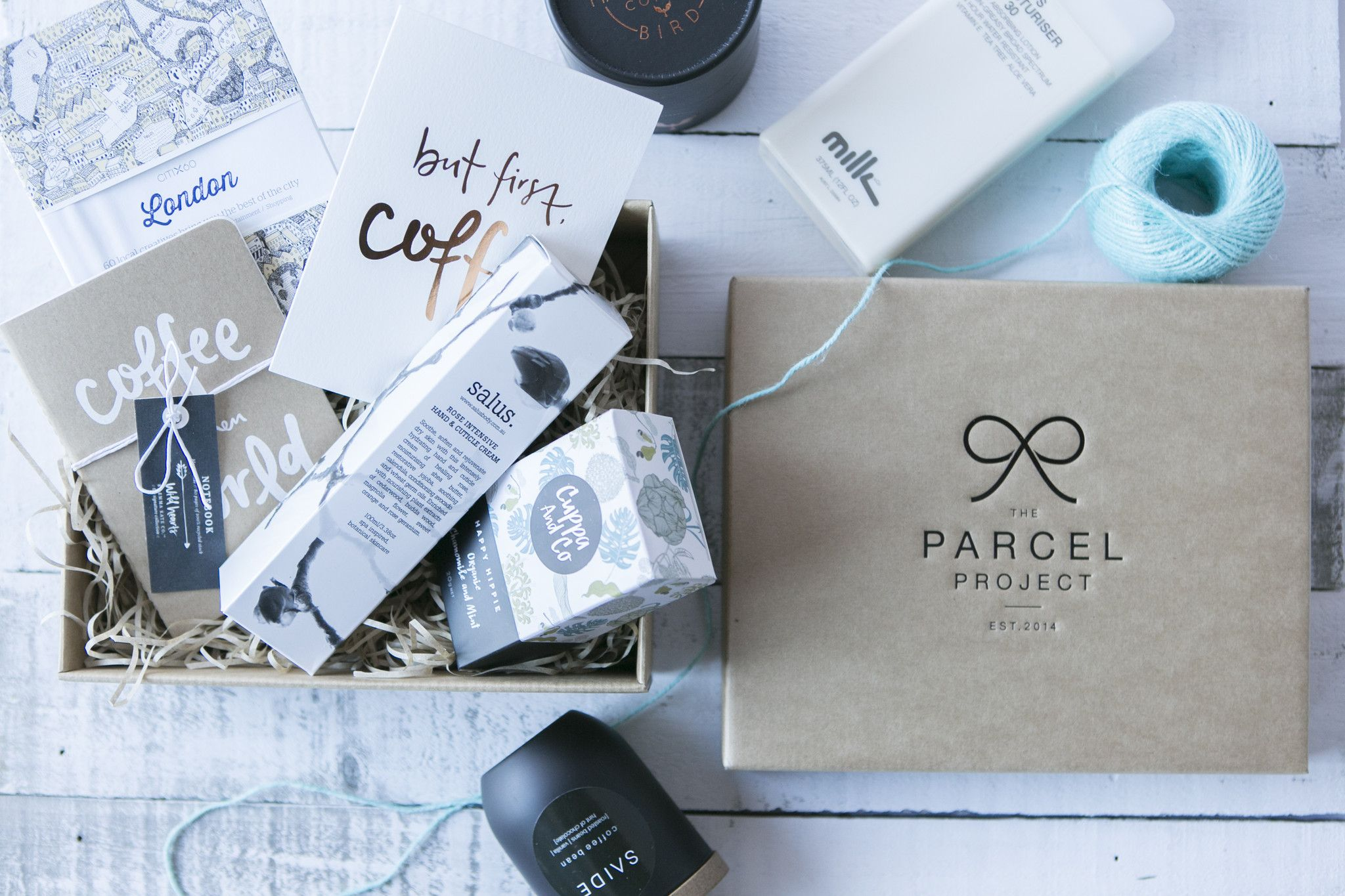 Thoughtfully Curated Gift Wrapped Parcels Delivered To Your Door