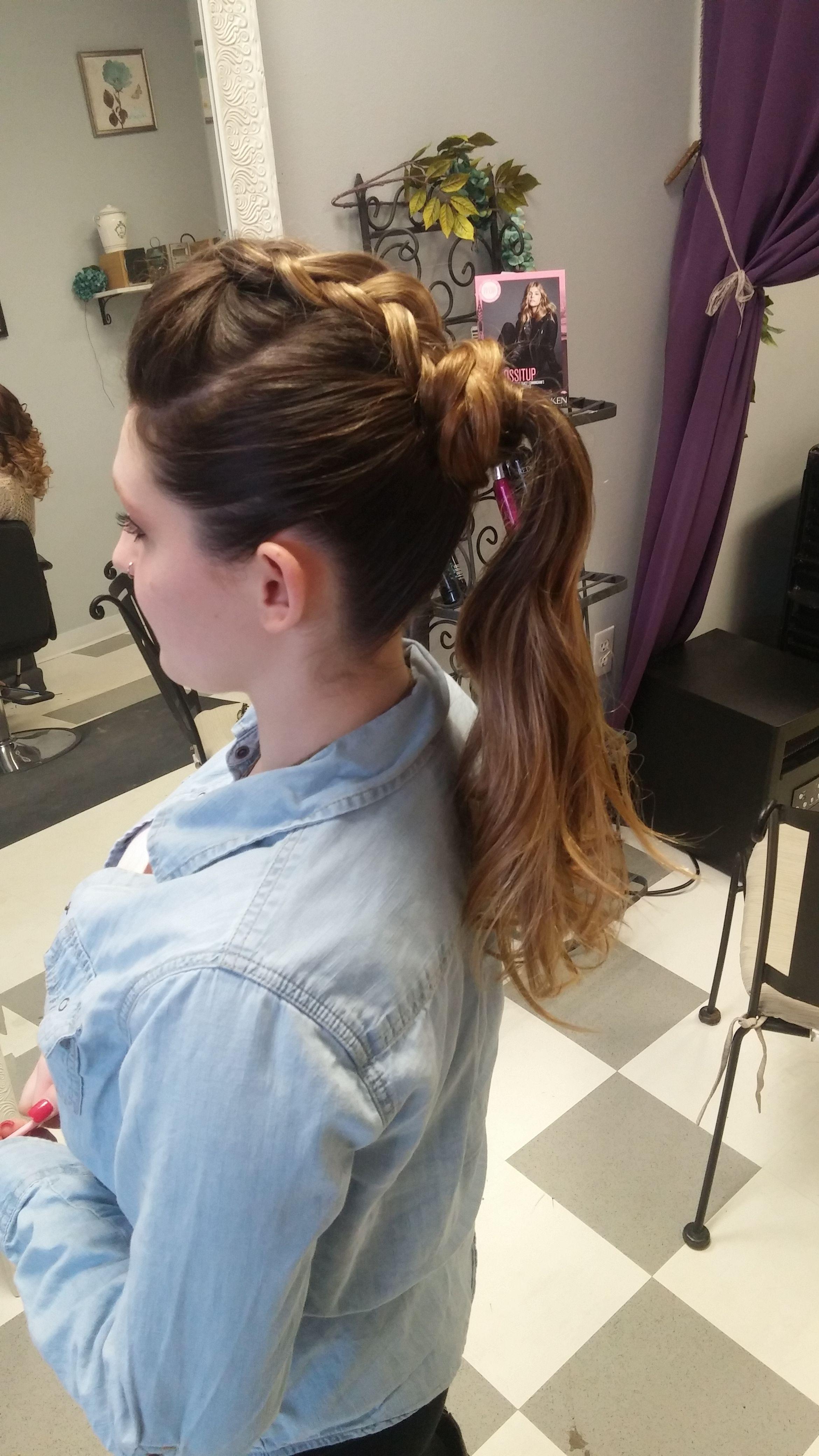 rockstar ponytail   my work   hair styles, ponytail, hair