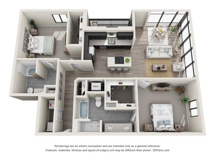 Pin von Erika Forward auf Art Haus design pläne, Haus design