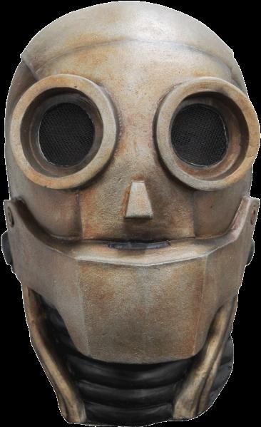 Robot Face Png Jpg Steampunk Robot Mask Png Download Transparent Png Image Steampunk Robots Robot Mask Steampunk Mask