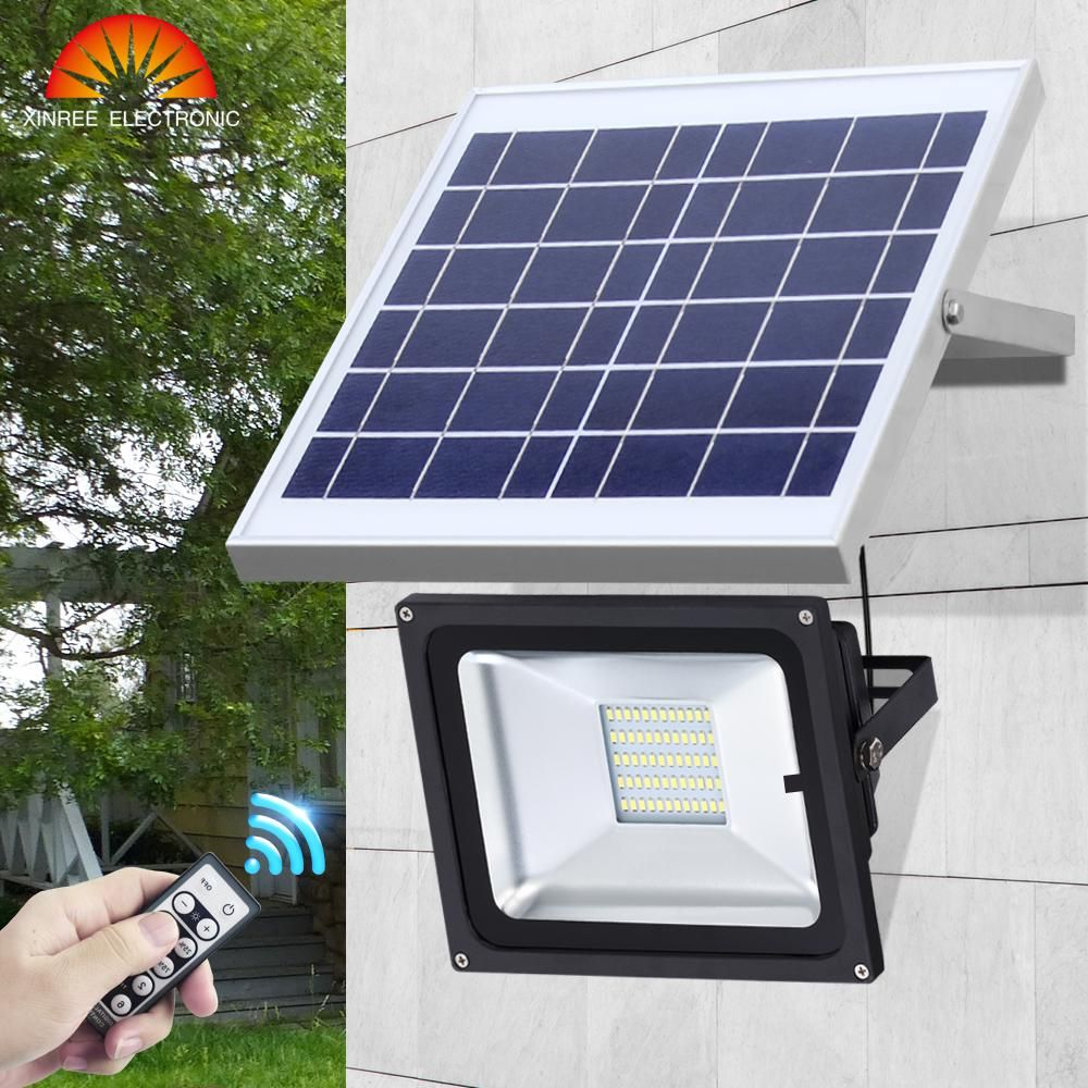 Xinree 30led Solar Light Garden Light Outdoor Solar Lamp Spot Lampara Solar Panel Led Street Light Ip65 Emergency Li Solar Lights Solar Flood Lights Solar Lamp