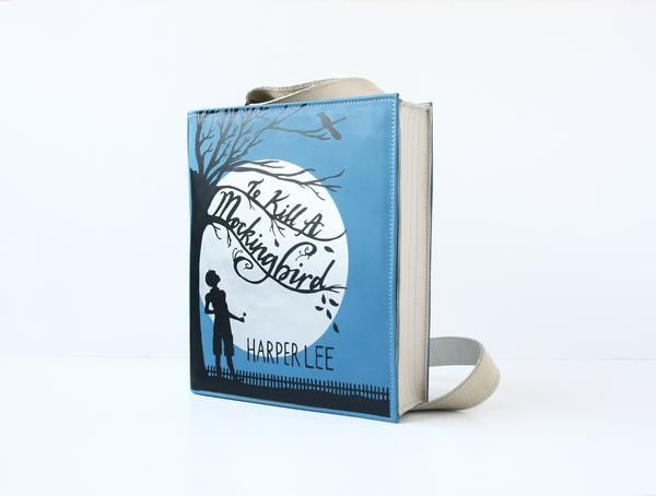 To Kill a Mockingbird Leather Book Purse