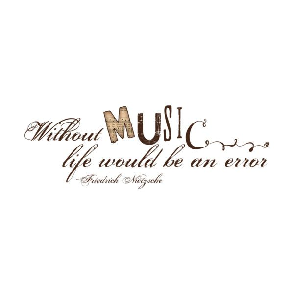 WA Withoutmusic Liked On Polyvore Featuring Words Text Music Quotes