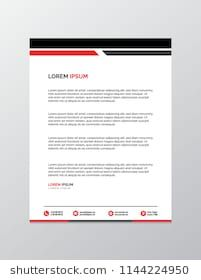 Professional Letterhead Templates Professional Letterhead Template #letterhead #templates .