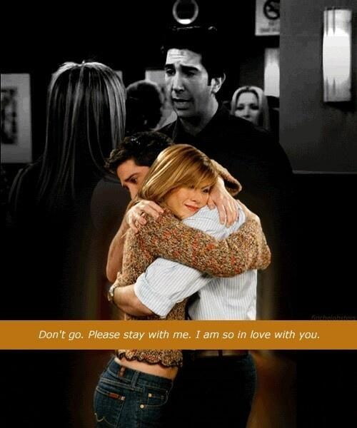 Pin by Briana McEvoy on Friends   Ross and rachel, Friends ...