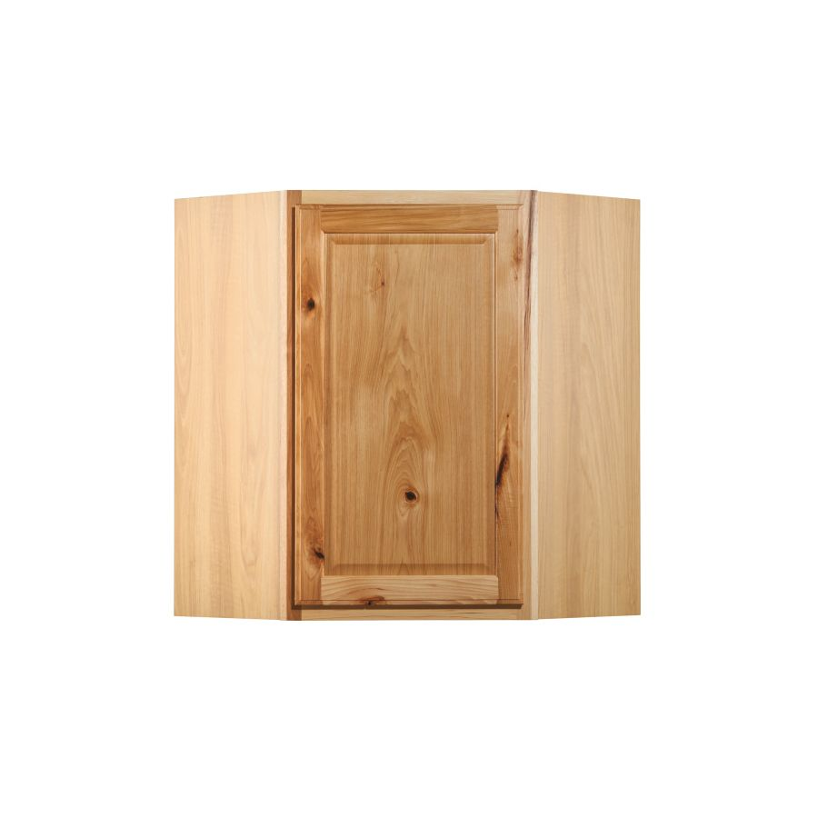 Diamond Now Denver 24 In W X 30 In H X 12 In D Natural Corner Wall Stock Cabinet Lowes Com Corner Wall Stock Cabinets Wall Cabinet