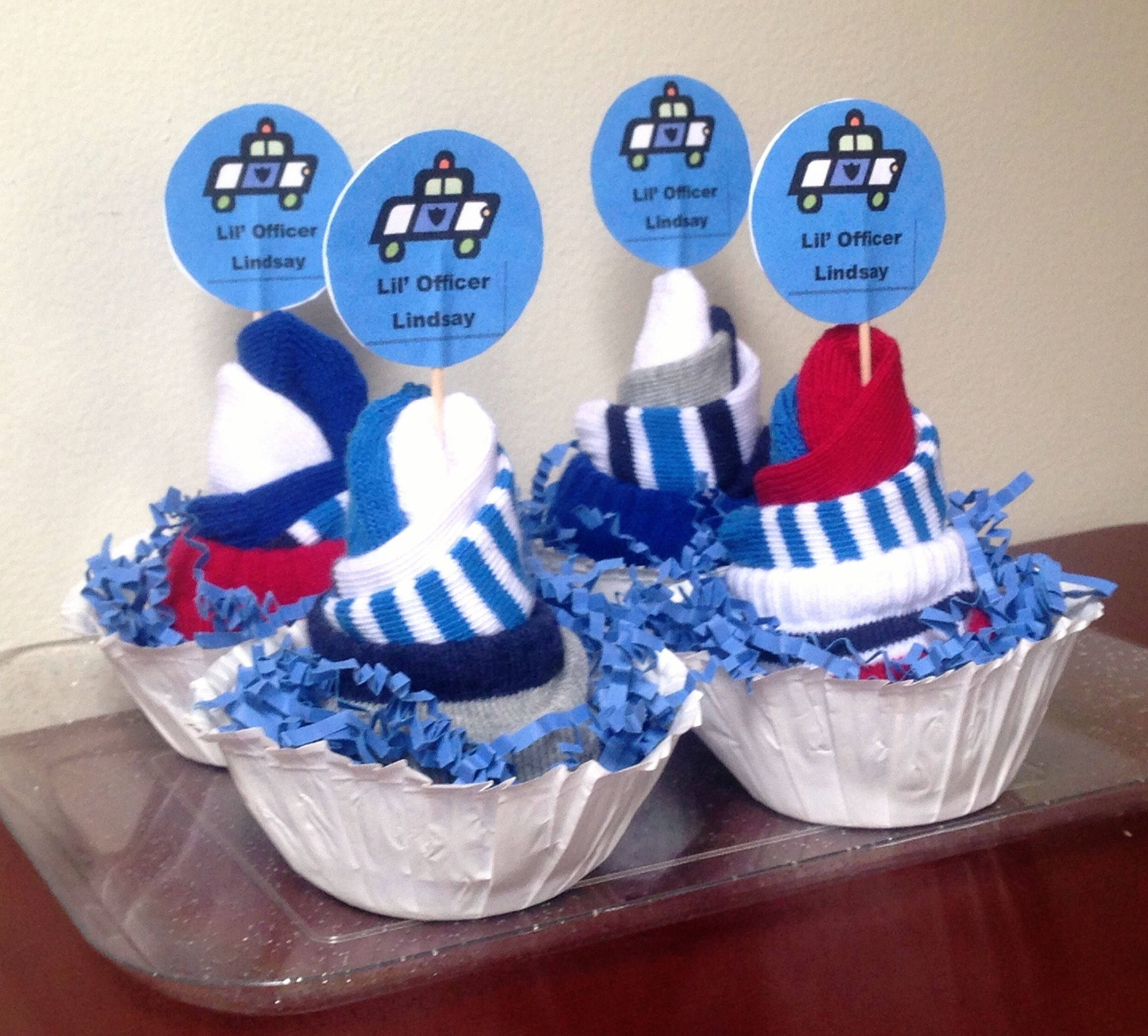 Billie's Babycakes- a unique, practical and super fun way to give the gift of diapers! Sock cupcakes now available too!  Find me on Facebook! :)