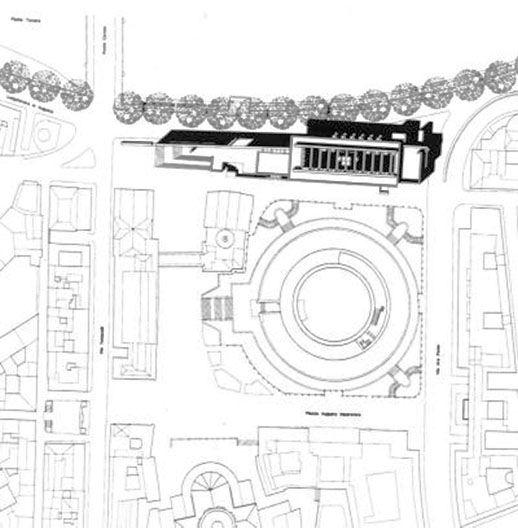 Meier roma ara pacis planimetria szukaj w google meier for Google planimetria