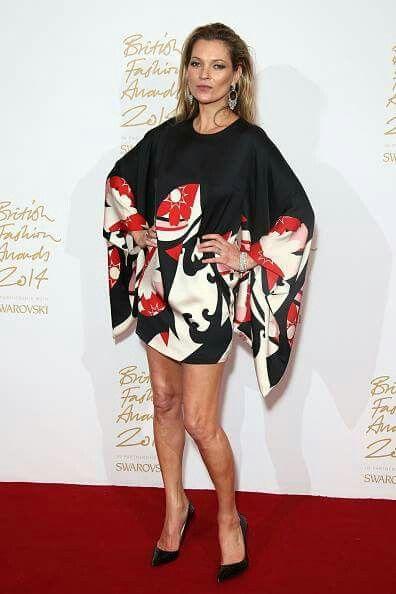 Kate Moss in Alexander McQueen