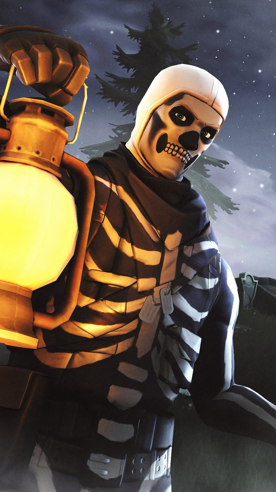 Skull Trooper Fortnite Season 6 Fortnite Wallpapers Pinterest