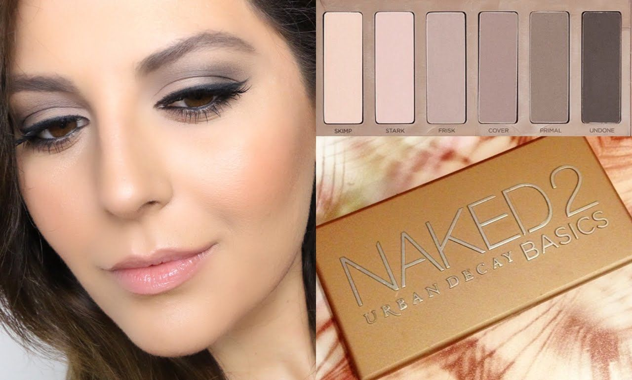Love It Ud Naked Basics 2 Palette Review  Tutorial -6814