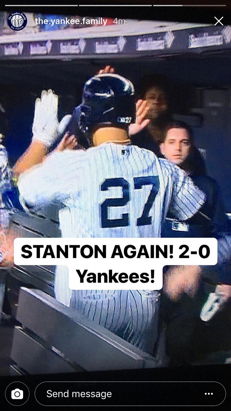 Pin By Larkinvanessa Larkinvanessa On New York Yankees New York Yankees Yankees Giancarlo Stanton
