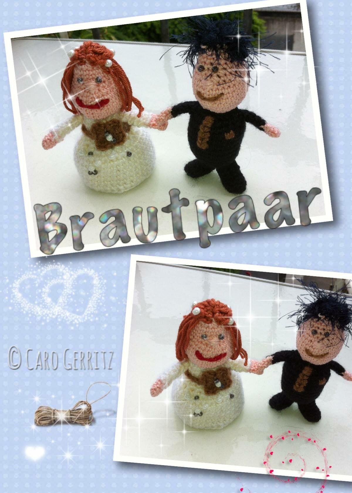 Pin Von Caro Gerritz Auf Brautpaar Gehäkelt Pinterest Brautpaar