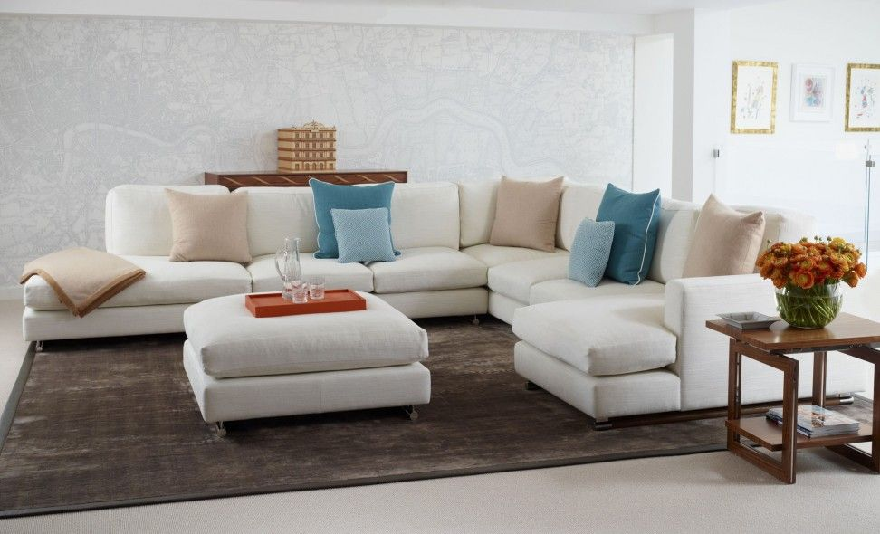 Brown Carpet On Modern Living Room Come With Living Room Sectional Custom Living Room Couches Inspiration Design