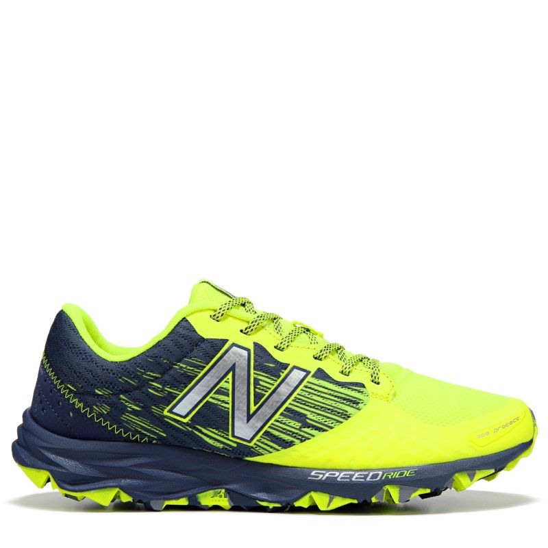 New Balance Men\u0027s 690 V2 Medium/X-Wide Trail Running Shoes (Yellow/Grey)