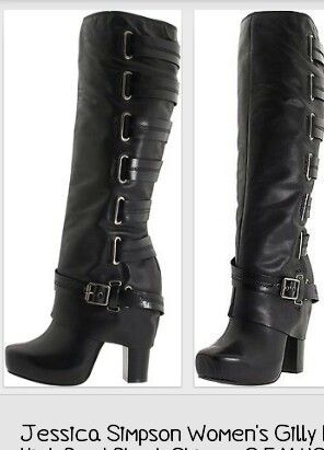I could see myself in these boots
