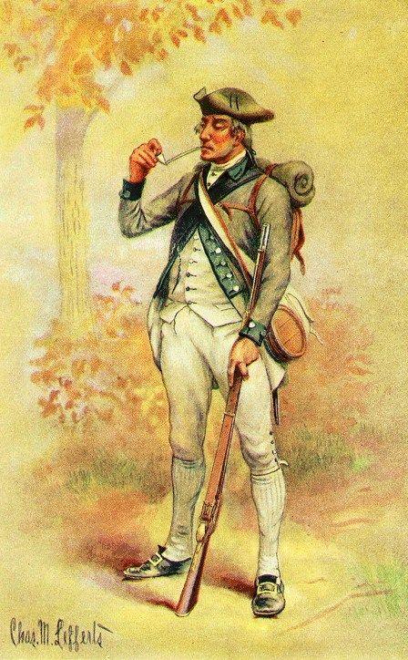 Blog de las Fuerzas de Defensa de la República Argentina: Guerra de la Independencia de USA: Uniformes americanos
