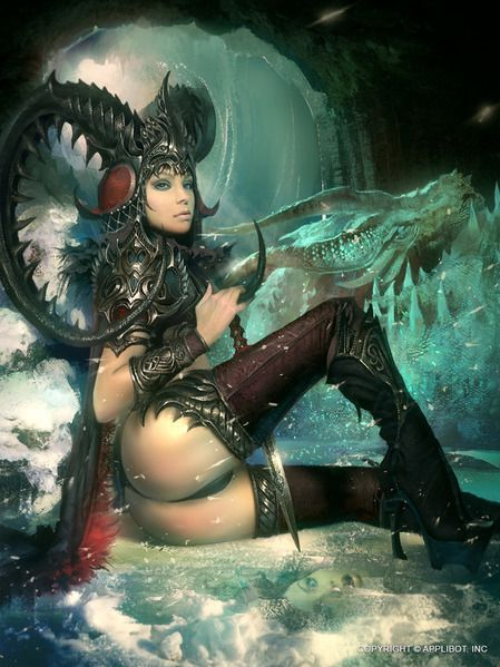 Legend Of The Cryptids On Pinterest Fantasy Women