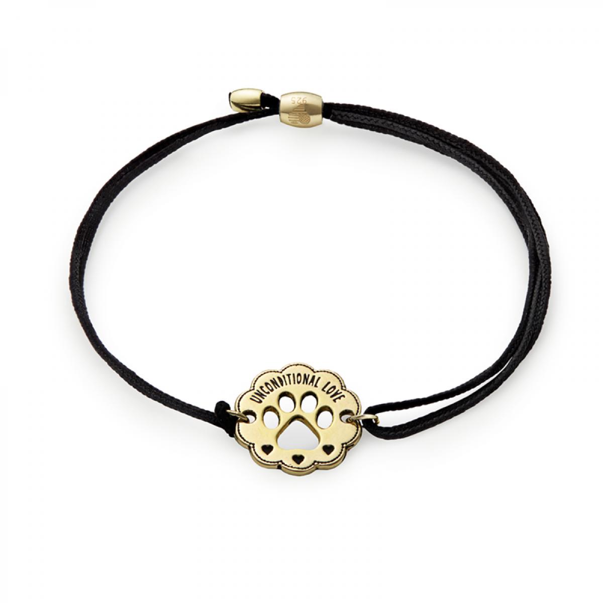 pulsera de cuero negro * Trollbeads single colgante Leather Bracelet
