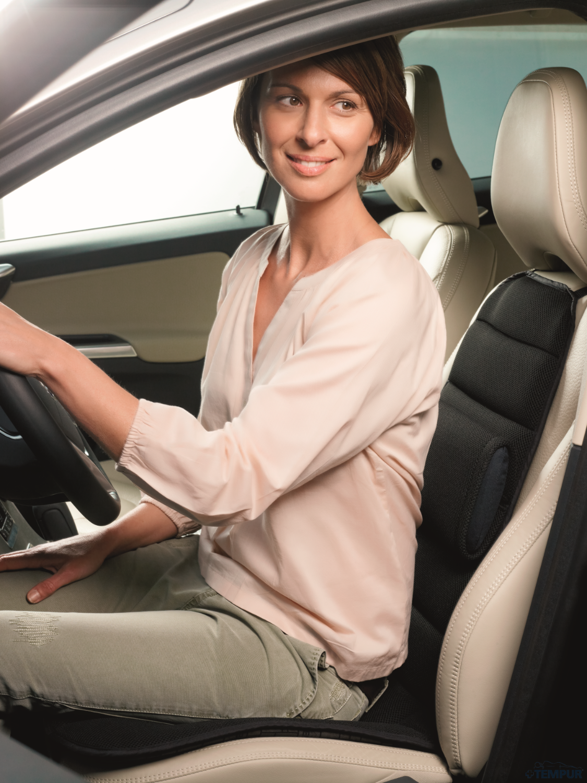 TEMPUR Car Comforter tuo mukavuutta auton istuimeen