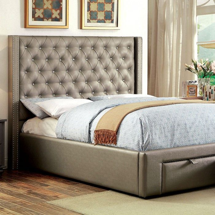 Corina Queen Bed CM7180Q Products Pinterest Queen beds and