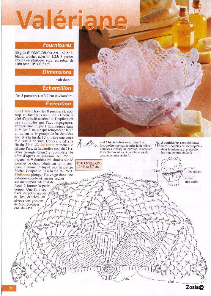Вязание крючком — сердечки, вазочки, салфетки, игрушки … | crochet ...