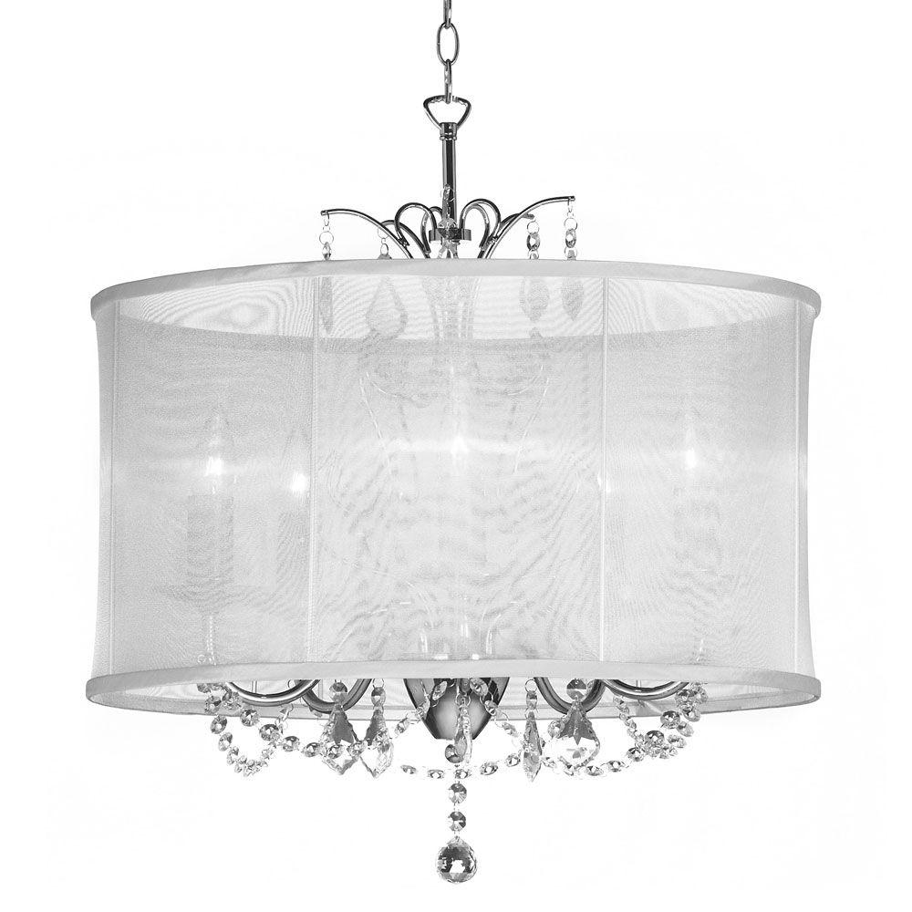 Pin By Sarah Mally On Entry Light In 2021 Drum Shade Chandelier Contemporary Crystal Chandelier Crystal Chandelier