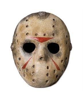 Part 3 Clean Fiberglass Hockey Jason Mask Hockey Mask Halloween Masks