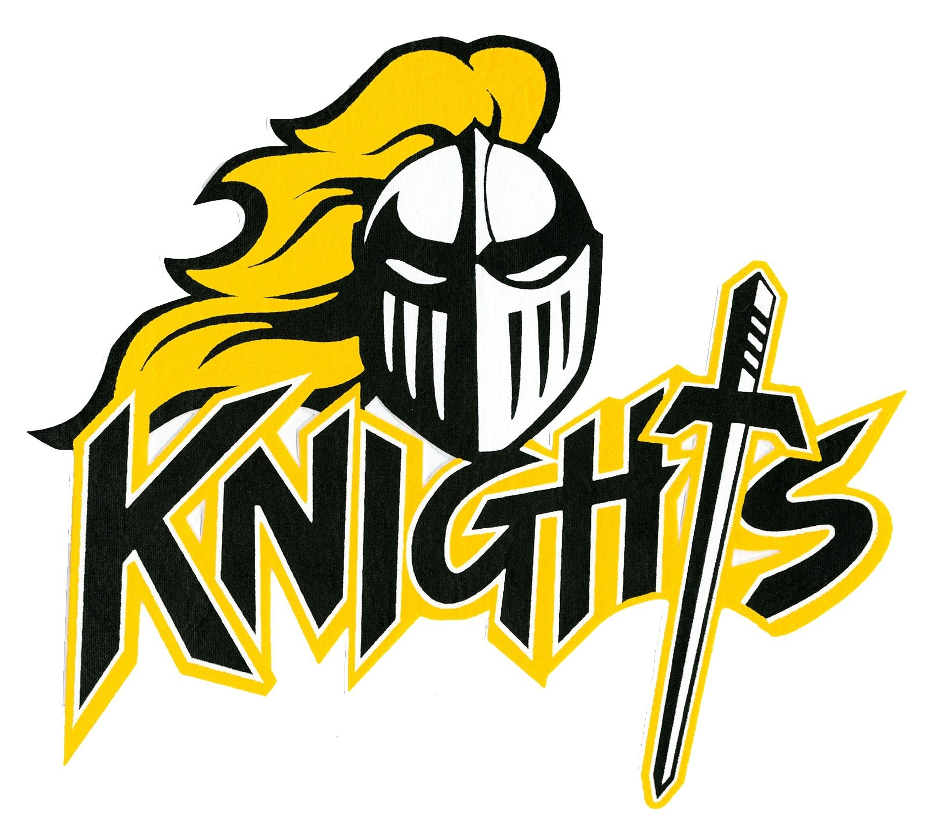 black knights logo south holt high school school