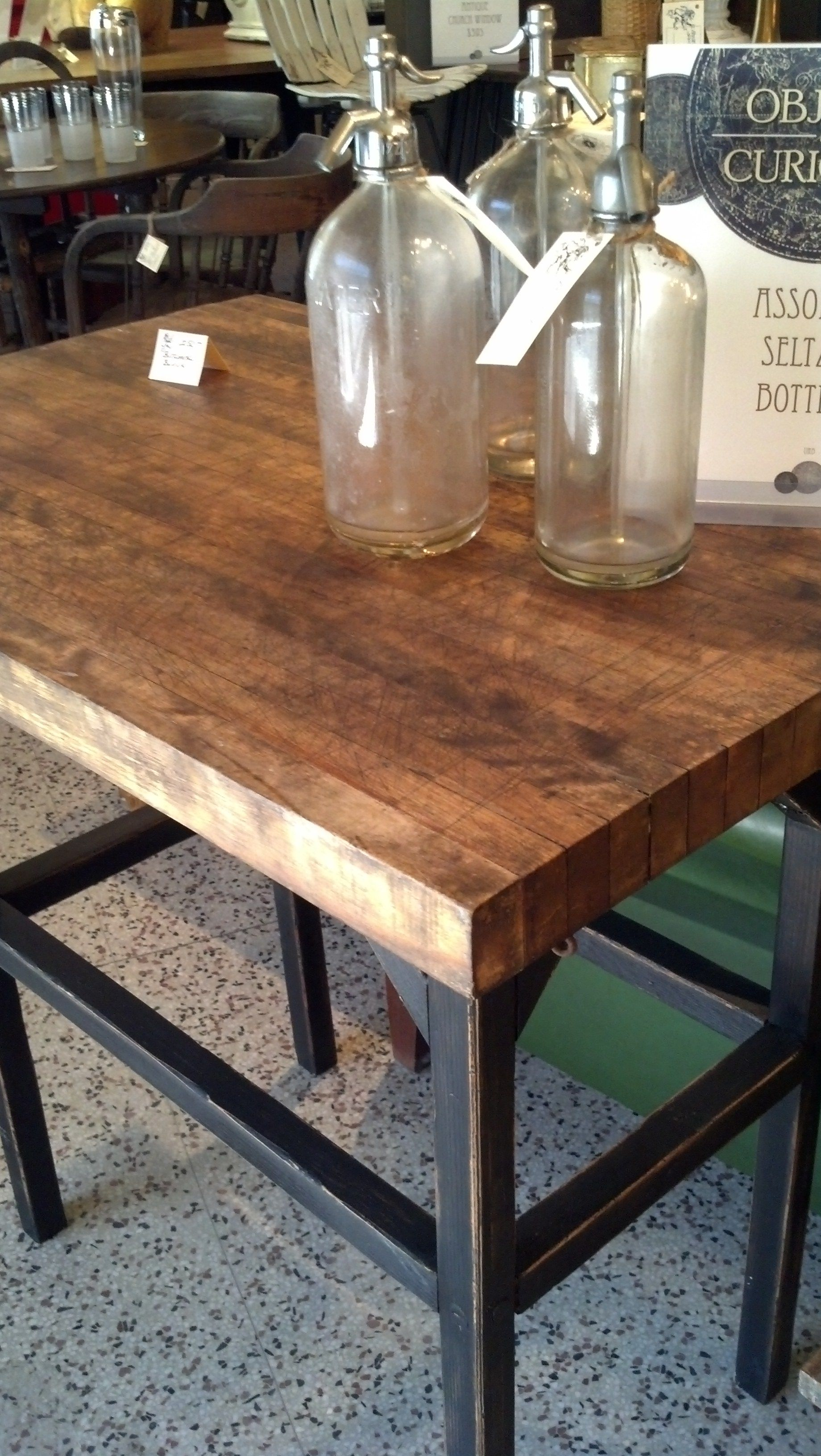 SOLD - butcher block island | urban farmhouse-items I have for sale ...