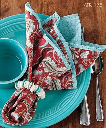 - Natalie's Napkins Pattern - at The Virginia Quilter