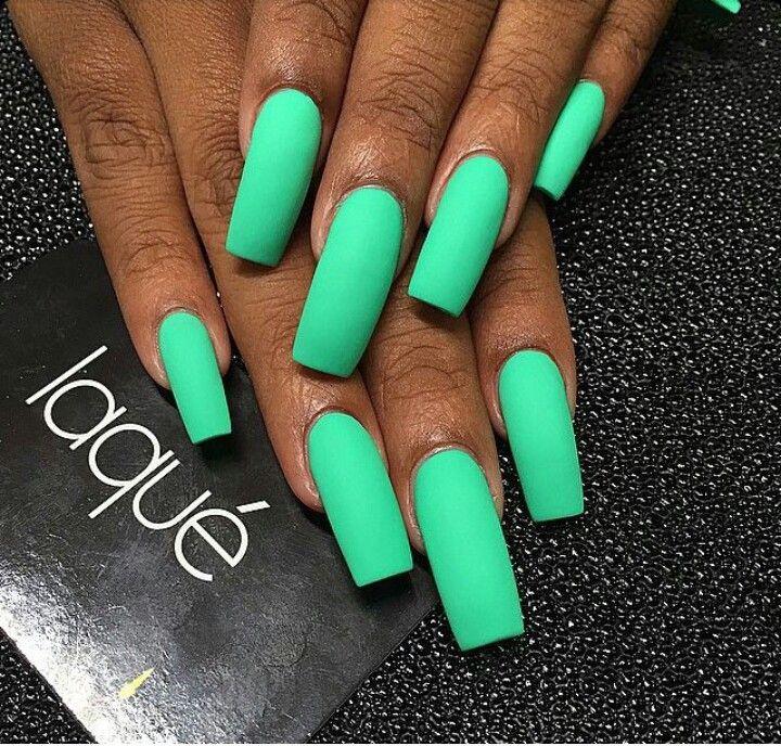 acrylic nails square long neon - Buscar con Google | Nails ...