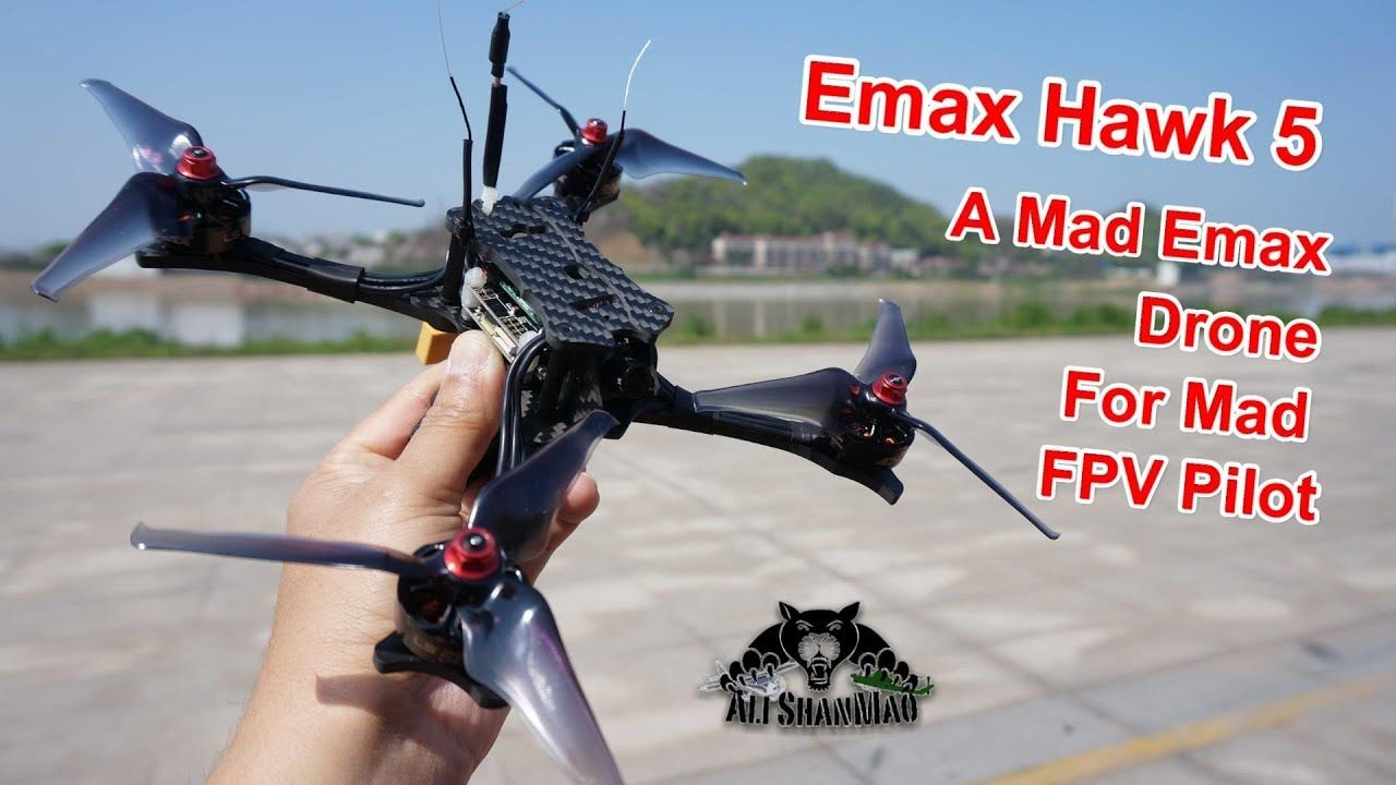 Emax Hawk 5 Maiden FPV Free styling around trees Get your