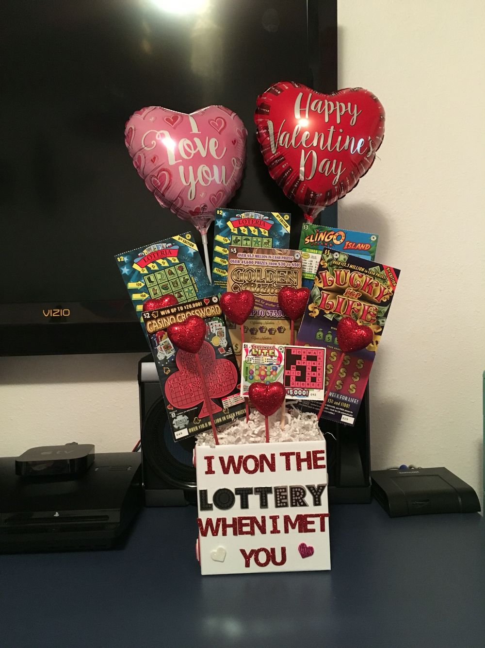 A cute valentines idea for him easy diy i made this for