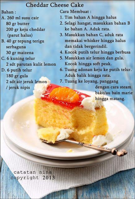 Cheese Cheese Cheddar Cheese Cake Resep Makanan Penutup Makanan Manis Ide Makanan