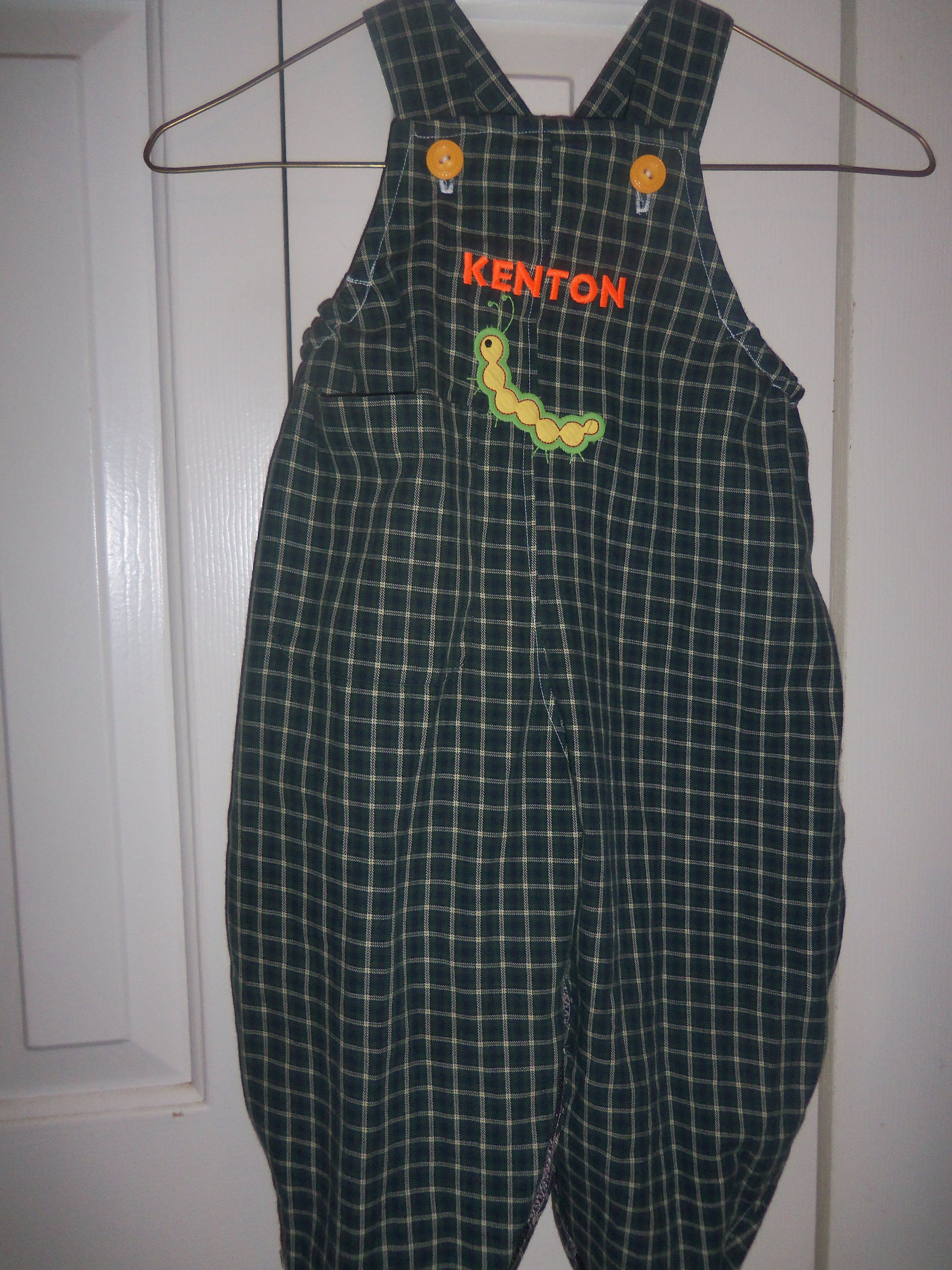 Flannel shirt apron  Another long bubble recycled from Grandpaus Old Flannel Shirt Save